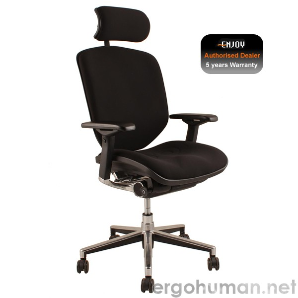 enjoy fabric office chair ergohuman enjoy enjoy chair