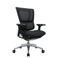 Mirus Mesh Office Chair Black Polished Frame