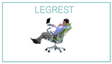 Ergohuman with leg rest