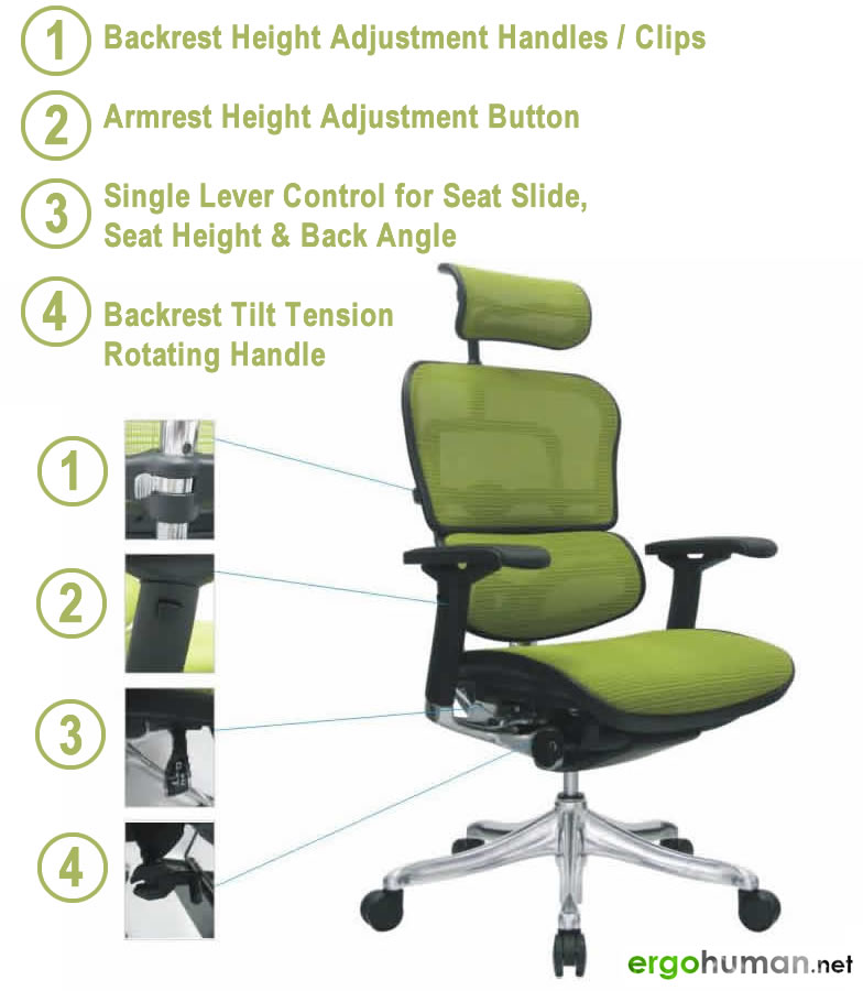 Ergohuman Office Chair Manual Embly