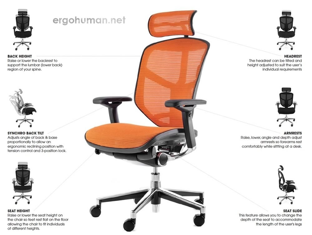 Enjoy Chair Adjustments - Adjustable Chair