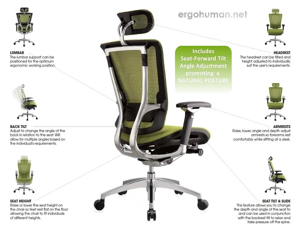 Nefil Chair Adjustments - Adjustable Chair
