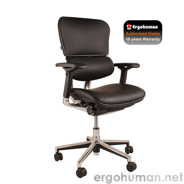 Ergohuman Elite Black Leather