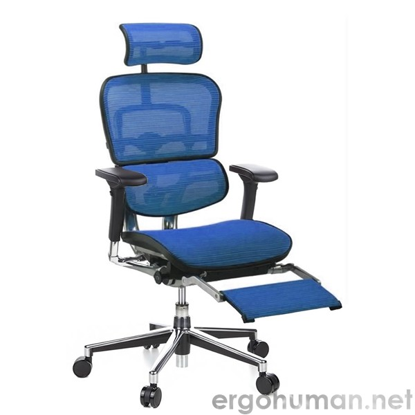Ergohuman Office Chair with Leg Rest