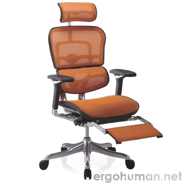 Ergohuman Office Chair with an intergrated Leg Rest