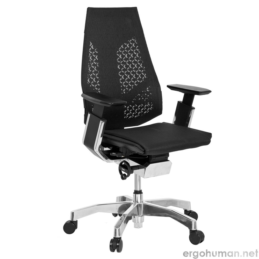 Genidia Office Chair Black Mesh