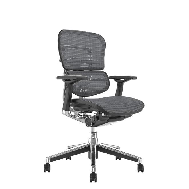 Ergohuman Mesh Office Chair Grey Mesh