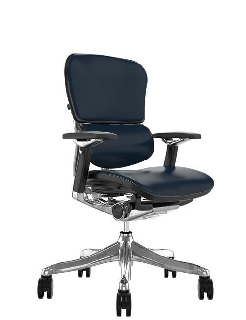 Ergohuman Elite Black Leather Office Chair (
