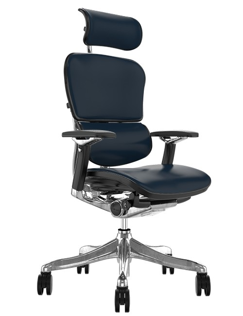 Ergohuman Plus Luxury Leather Ergonomic Office Chair