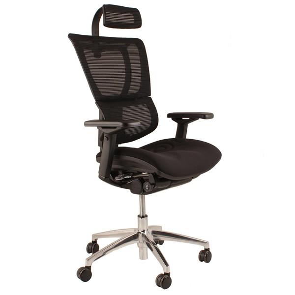 Mirus Black Mesh Office Chair