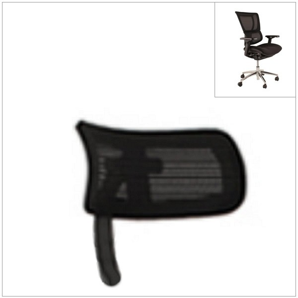 Mirus headrest - 3D headrest - adjustable headrest