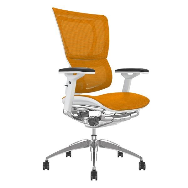 Mirus Mesh Office Chair White Frame