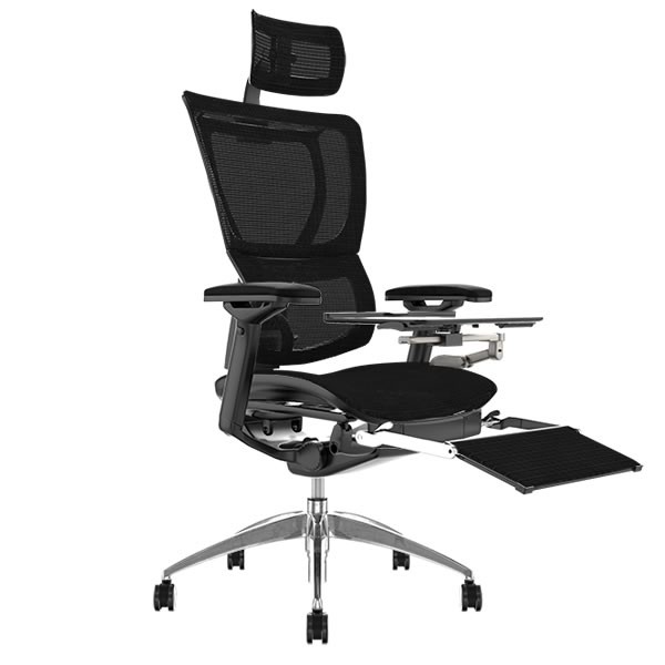 Mirus Office Chair Legrest and Notebook Arm