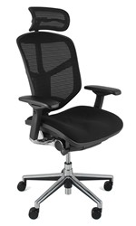 Enjoy Fabric Seat Mesh Back Office Chair  sc 1 st  Ergohuman.net & Enjoy Office Chairs | Mesh Office Chair | Best Seller