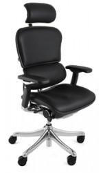 Ergohuman Plus Black Leather Chair