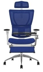 Mirus Office Chair with Head Rest & Leg Rest & Notebook Arm