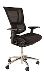 Mirus Office Chair Black Frame