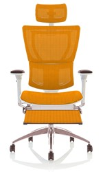Mirus Office Chair with Head Rest & Leg Rest