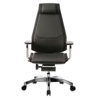 Genidia Leather Office Chair with Head Rest