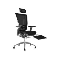 Nefil Mesh Office Chair With Leg Rest and Headrest and Notebook arm