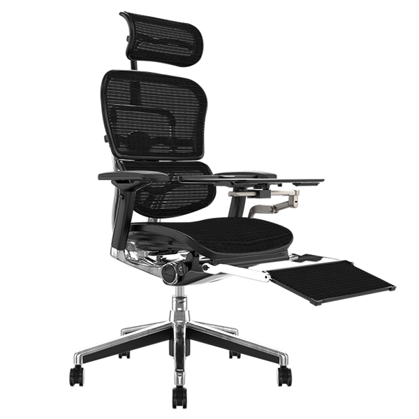 Ergohuman Plus with leg rest and laptop table