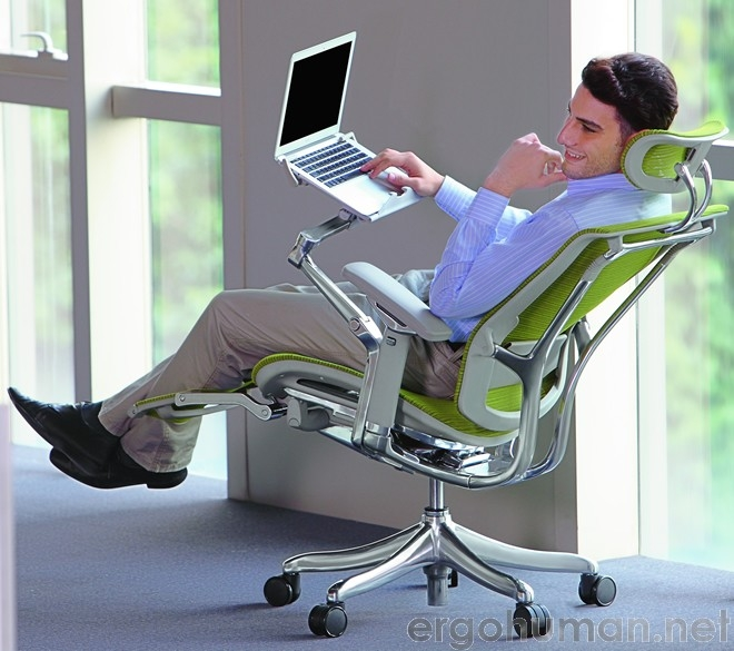 Laptop Office Chair with Leg Rest, Nefil Office Chair with Leg Rest
