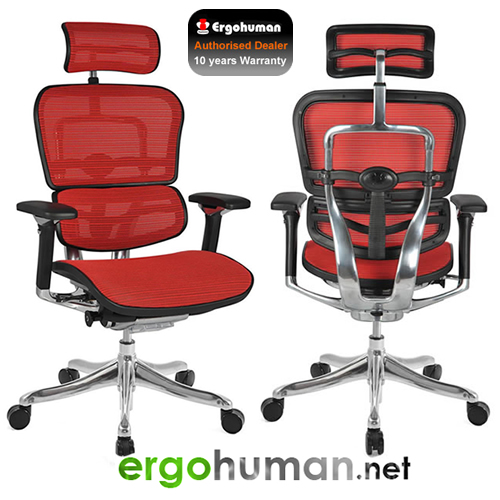 Ergohuman Plus Office Chairs top of the range