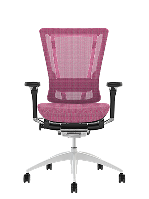 Nefil Pink Mesh Office Chair