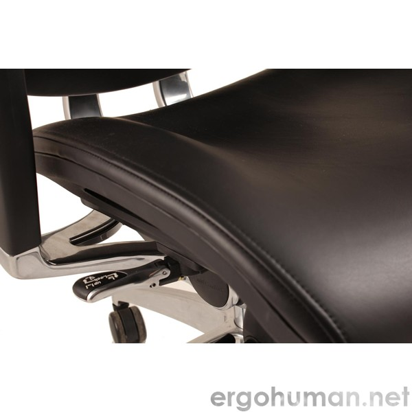 Nefil Leather Office Chair detail