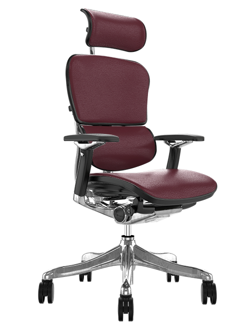 Ergohuman Plus Luxury Indego Leather Office Chair