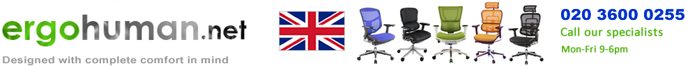 Ergohuman, Enjoy, Mirus, Nefil and Ergohuman Plus and Genidia Office Chairs