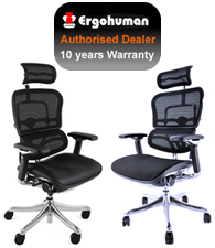Call our Ergohuman Chair  Specialists 020 3600 0255